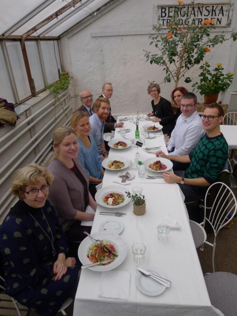 Lunch at Bergianska Trädgården